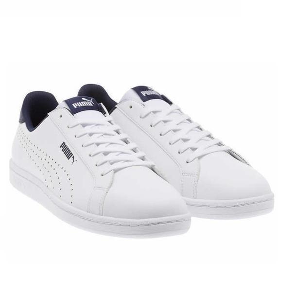 Mens Puma Smash Size 105 Leather Athletic Tennis Shoes Nib Free Shipping